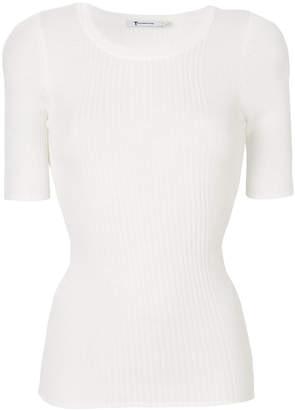 Alexander Wang shortsleeved knitted top