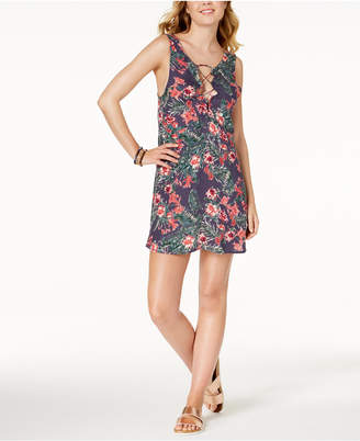Roxy Printed Strappy Cover-Up Dress Women's Swimsuit