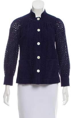 Marc by Marc Jacobs Lace Round Collar Jacket