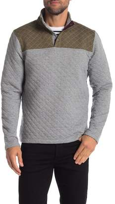 Tailor Vintage Quilted Mock Neck Sweater
