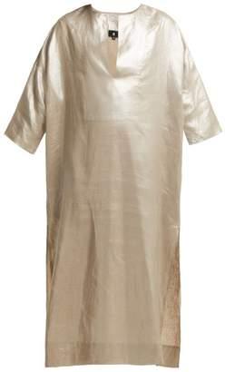 Su - Sya Linen Kaftan - Womens - Silver