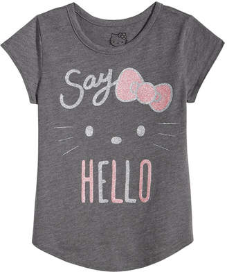 Hello Kitty Little Girls Cotton T-Shirt