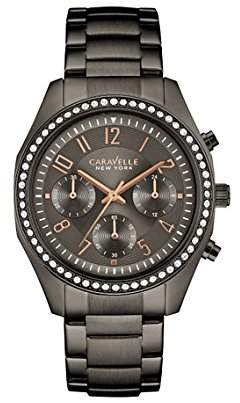 Bulova Women's Quartz Stainless Steel Casual Watch, Color:Grey (Model: 45L161) $140 thestylecure.com