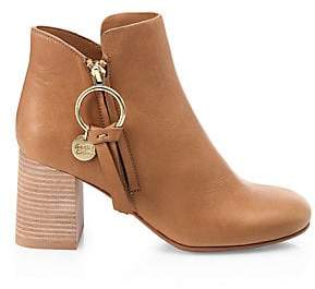 See by Chloe Women's Louise Leather Booties