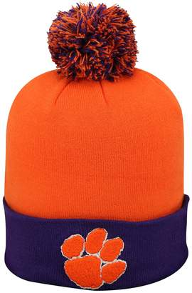 Top of the World Adult Clemson Tigers Pom Knit Hat