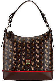 As Is Dooney & Bourke Sutton Sophie Hobo $167 thestylecure.com