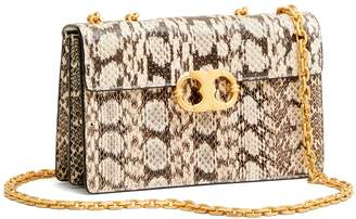 Tory Burch GEMINI LINK SNAKE SMALL CHAIN SHOULDER BAG
