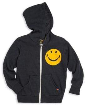 Aviator Nation Toddler's, Little Boy's& Boy's Smiley Applique Hoodie