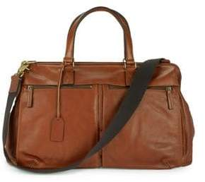 Fossil Leather Duffel Bag