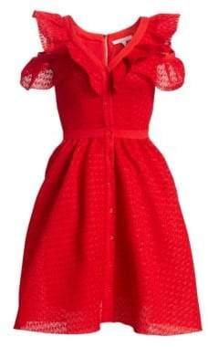 Maje Reglisse A-line Dress