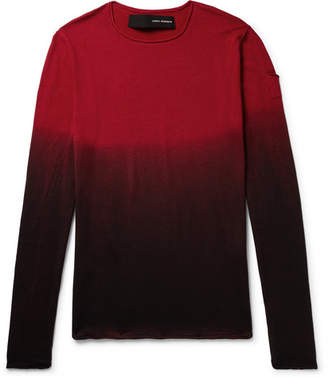 Isabel Benenato Dégradé Virgin Wool Sweater