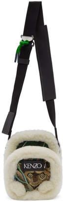 Kenzo Green Jacquard Small Crossbody Bag