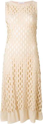Stefano Mortari perforated midi dress