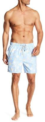 The Endless Summer Star Fish Patterned Swim Trunks