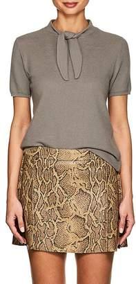 Giorgio Armani Women's Wool-Blend Tieneck Sweater