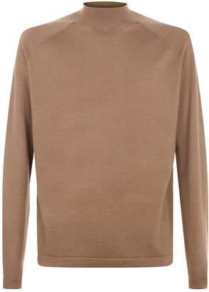 J. Lindeberg Wool-Silk Turtleneck Sweater