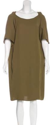 Maison Margiela Short Sleeve Sheath Dress