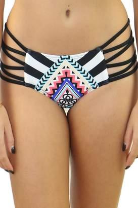 Heat Swimwear Striped Side Bottom