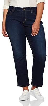 Levi's Plus Women's 314 Pl Shaping Straight Jeans,(24W)