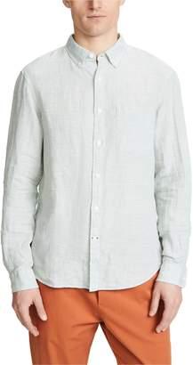 Club Monaco Button Down Linen Shirt