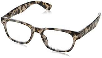 Peepers Unisex-Adult Clark Focus 2600100 Square Reading Glasses