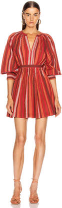 Ulla Johnson Julia Dress in Cerise | FWRD