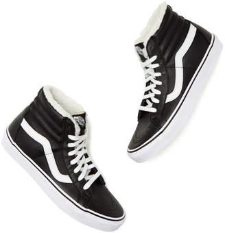Vans Sk8-Hi High-Top Fleece Sneakers