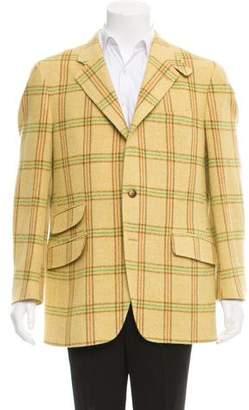 Etro Wool Three-Button Blazer