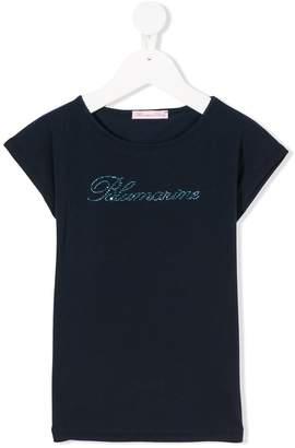 Miss Blumarine logo T-shirt