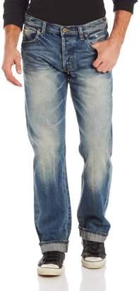 PRPS GOODS&CO. Goods & Co. Men's Barracuda Regular Fit Straight Leg Selvedge Jean in