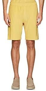 P. Johnson Men's Cotton French Terry Shorts - Yellow