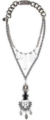 Prada Crystal Long Necklace