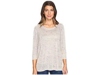Bobeau B Collection by Charita Dolman Sleeve Women's Long Sleeve Pullover