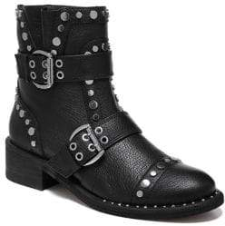 Sam Edelman Drea Studded Leather Ankle Boots