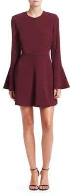 A.L.C. Trixie Bell Sleeve Mini Dress