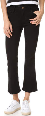 Joe's Jeans The Olivia Cropped Flare Jeans $189 thestylecure.com