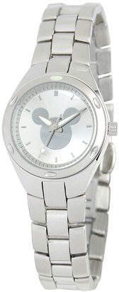DISNEY Disney Mickey Mouse Womens Stainless Steel Watch $79.99 thestylecure.com