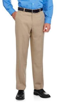George Big Men's Flat Front Dress Pant