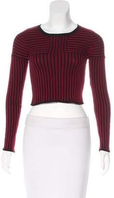 For Love & Lemons Stripe Pattern Knit Sweater