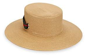 Gucci Women's Papier Wide Brim Hat