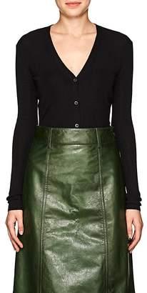 Prada Women's Cashmere-Silk V-Neck Cardigan.
