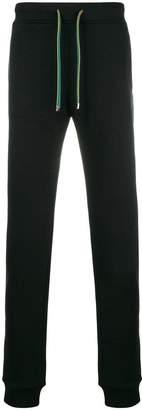 Versace contrast drawstring track pants