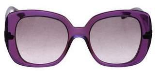 Bottega Veneta Tinted Square Sunglasses