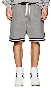 Fear Of God Men's Striped Cotton-Blend French Terry Shorts-Gray