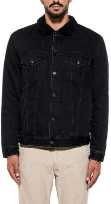 Mauro Grifoni Black Denim Jacket