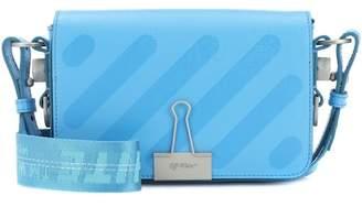 Off-White Mini Binder Clip leather shoulder bag