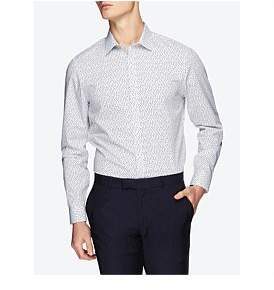 Ben Sherman Ls Scattered Square Camden Fit Shirt