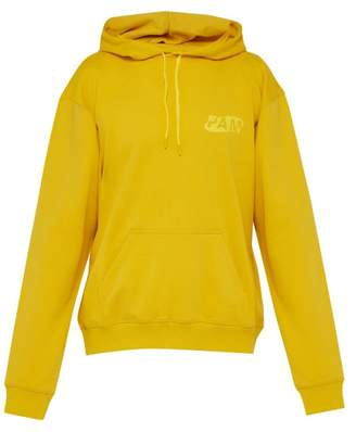 PAM Gesters Hooded Cotton Sweatshirt - Mens - Gold