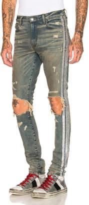 Amiri Glitter Track Jean