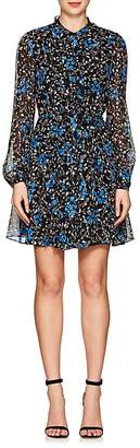 Saloni Women's Tilly Floral Silk Minidress